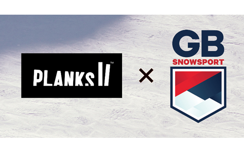 PLANKS JOINS FORCES WITH GB SNOWSPORT