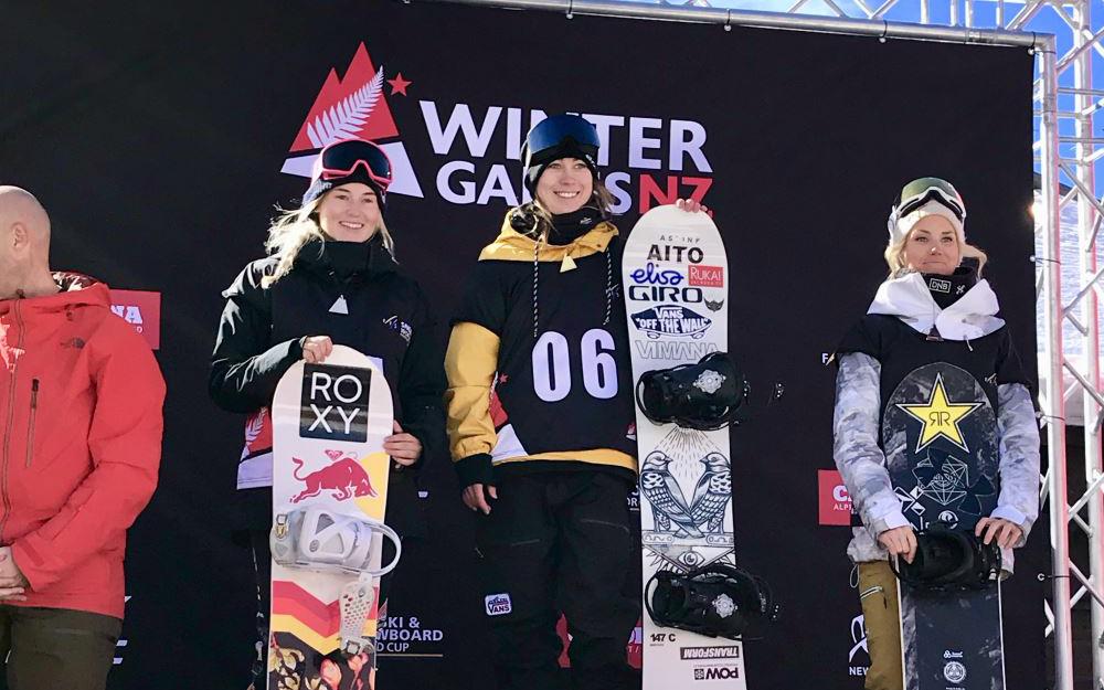 Katie Ormerod World Cup Silver 2019 NZ